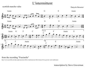 sheet music – L'Accordeonaire